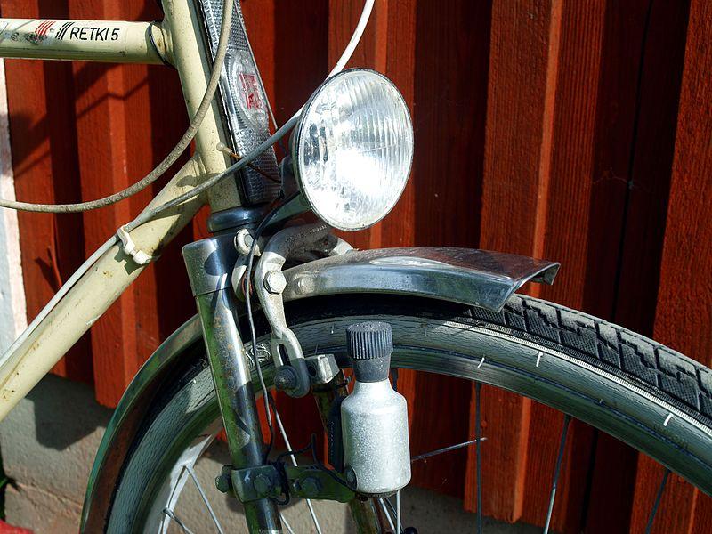 dinamo de bicicleta antiguo