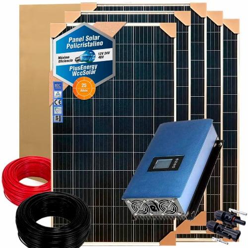 kits solares fotovoltaicos